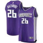 Fanatics Branded Kent Bazemore Sacramento Kings Purple Fast Break Road Player Jersey