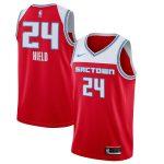 Nike Buddy Hield Sacramento Kings Red 2019/20 Finished Swingman Jersey - City Edition