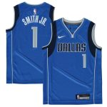 Nike Dennis Smith Dallas Mavericks Youth Blue Swingman Jersey - Icon Edition