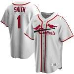 Nike Ozzie Smith St. Louis Cardinals White Home Cooperstown Collection Player Jersey