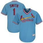 Ozzie Smith St. Louis Cardinals Light Blue Road Cooperstown Collection Replica Player Jersey