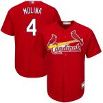 Yadier Molina St. Louis Cardinals Red Big & Tall Replica Player Jersey