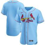 Nike St. Louis Cardinals Light Blue Alternate 2020 Authentic Team Jersey