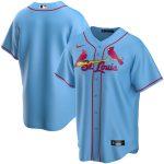 Nike St. Louis Cardinals Youth Light Blue Alternate 2020 Replica Team Jersey