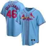 Nike Paul Goldschmidt St. Louis Cardinals Youth Light Blue Alternate 2020 Replica Player Jersey