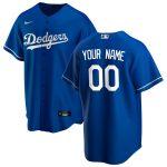 Nike Los Angeles Dodgers Royal Alternate 2020 Replica Custom Jersey