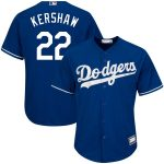 Clayton Kershaw Los Angeles Dodgers Royal Big & Tall Replica Player Jersey