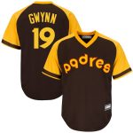 Tony Gwynn San Diego Padres Brown Big & Tall Road Cooperstown Collection Replica Player Jersey