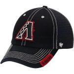 '47 Arizona Diamondbacks Black Turner Clean-Up Adjustable Hat
