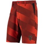 San Francisco Giants Orange/Black Diagonal Stripe Walking Shorts
