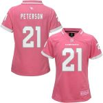 Patrick Peterson Arizona Cardinals Girls Youth Pink Bubble Gum Jersey