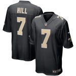 Nike Taysom Hill New Orleans Saints Black Event Game Jersey