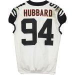 Fanatics Authentic Sam Hubbard Cincinnati Bengals Game-Used #94 White Jersey vs. Pittsburgh Steelers on September 30, 2019