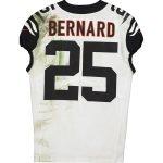 Fanatics Authentic Giovani Bernard Cincinnati Bengals Game-Used #25 White Jersey vs. Pittsburgh Steelers on September 30, 2019