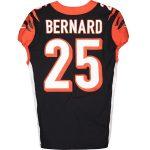 Fanatics Authentic Giovani Bernard Cincinnati Bengals Game-Used #25 Black Jersey vs. Buffalo Bills on September 22, 2019