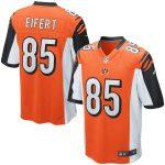 Nike Tyler Eifert Cincinnati Bengals Orange Game Jersey