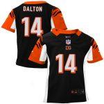 Nike Andy Dalton Cincinnati Bengals Toddler Black Game Jersey