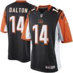 Nike Andy Dalton Cincinnati Bengals Youth Orange Limited Jersey