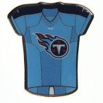 """WinCraft Tennessee Titans 1"""" x 1"""" Jersey Pin"""