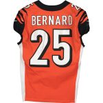 Fanatics Authentic Giovani Bernard Cincinnati Bengals Game-Used #25 Orange Jersey vs. Arizona Cardinals on October 6, 2019