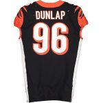 Fanatics Authentic Carlos Dunlap Cincinnati Bengals Game-Used #96 Black Jersey vs. Buffalo Bills on September 22, 2019