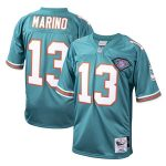 Mitchell & Ness Dan Marino Miami Dolphins Aqua 1994 Authentic Throwback Retired Player Jersey
