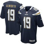 Nike Lance Alworth San Diego Chargers Navy Retired Player Game Jersey