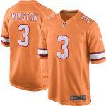 Nike Jameis Winston Tampa Bay Buccaneers Orange Youth Alternate Game Jersey