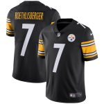Nike Ben Roethlisberger Pittsburgh Steelers Youth Black Vapor Untouchable Limited Player Jersey