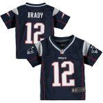 Nike Tom Brady New England Patriots Toddler Navy Game Jersey