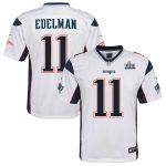 Nike Julian Edelman New England Patriots Youth White Super Bowl LIII Bound Game Jersey