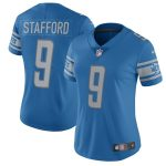 Nike Matthew Stafford Detroit Lions Women's Blue 2017 Vapor Untouchable Limited Player Jersey