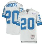 Mitchell & Ness Barry Sanders Detroit Lions Youth Platinum NFL 100 Retired Player Legacy Jersey