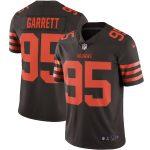 Nike Myles Garrett Cleveland Browns Brown Vapor Limited Jersey