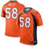 Nike Von Miller Denver Broncos Orange Legend Jersey