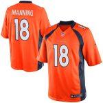 Nike Peyton Manning Denver Broncos Youth Orange Limited Jersey