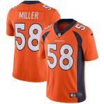 Nike Von Miller Denver Broncos Youth Orange Vapor Untouchable Limited Player Jersey