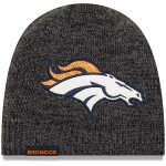 New Era Denver Broncos Women's Black Glitter Chic Knit Hat