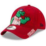 New Era Philadelphia Phillies Toddler Red Fuzzy 9TWENTY Adjustable Hat