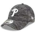 New Era Philadelphia Phillies Gray Tech 9FORTY Adjustable Snapback Hat