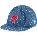 New Era Philadelphia Phillies Toddler Denim Flip 9TWENTY Adjustable Hat