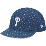 New Era Philadelphia Phillies Infant Denim/White Flip 9TWENTY Adjustable Hat