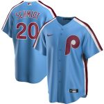 Nike Mike Schmidt Philadelphia Phillies Light Blue Road Cooperstown Collection Replica Player Jersey