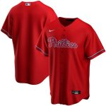 Nike Philadelphia Phillies Youth Red Alternate 2020 Replica Team Jersey