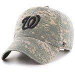 '47 Washington Nationals Camo Phalanx Clean Up Adjustable Hat