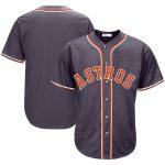Houston Astros Charcoal Big & Tall Fashion Jersey