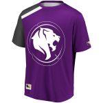 Los Angeles Gladiators Purple Overwatch League Replica Home Jersey