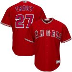 Mike Trout Los Angeles Angels Red Big & Tall Replica Player Jersey