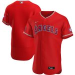 Nike Los Angeles Angels Red Alternate 2020 Authentic Team Jersey