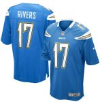 Nike Philip Rivers Los Angeles Chargers Powder Blue Alternate Game Jersey